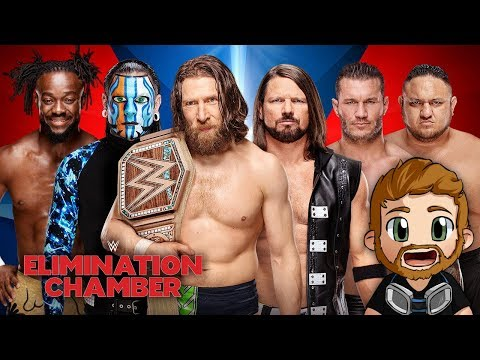 WWE ELIMINATION CHAMBER (2019) LIVE STREAM LIVE REACTIONS WATCH PARTY