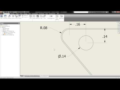 Quick Inventor Tip: Get your drawing dimensions automatically