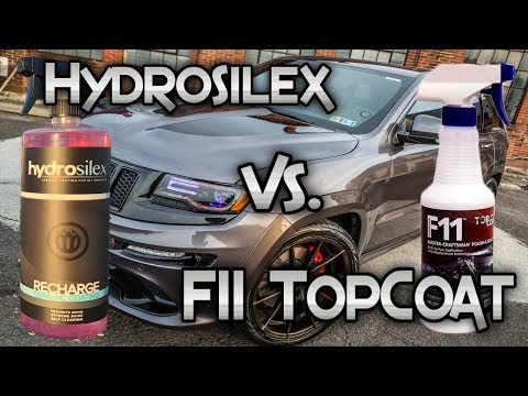 Hydrosilex vs F11 TopCoat: Which one is better?