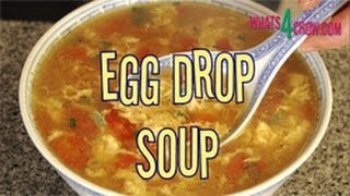 How To Make Chinese Egg Drop Soup. Step-by-step Egg Drop Soup Recipe! Tomato And Egg Soup!