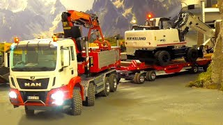BEST OF RC TRUCK & CONSTR.-SITE COL. 3!STUCKING RC´S! HEAVY HAULAGE RC TRUCKS! MAN! AROCS! SCANIA!