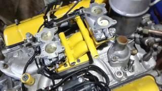 Два карбюратора К 126 на V8