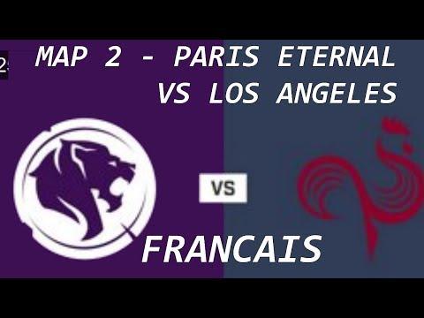 MAP 2 PARIS ETERNAL CONTRE LOS ANGELES GLADIATORS Overwatch league 2019