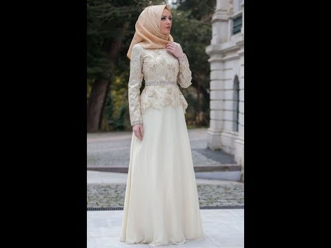 Model Baju Gamis Muslim Brokat Terbaru 2017 Youtube