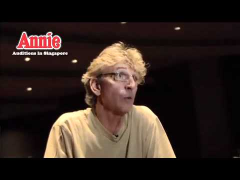 ANNIE The Musical - Auditions in Singapore
