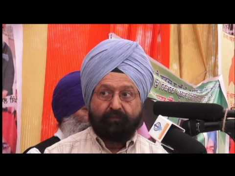 CD Dr  Gurdarshan Singh Dhillon comments on Indian policies prproj