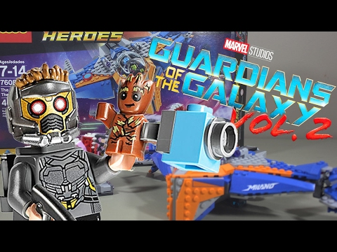 """LEGO Guardians of the Galaxy Vol 2 """"The Milano vs The Abilisk"""" Set Review 76081"""