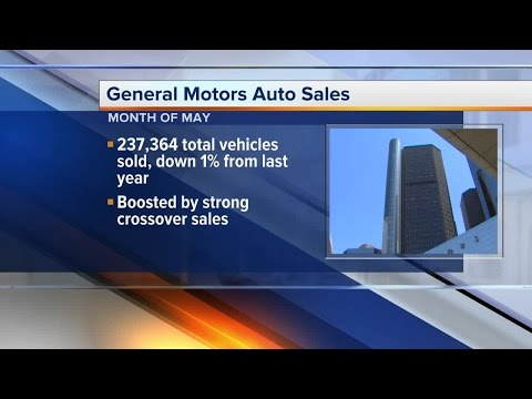 U.S. auto sales for General Motors, Ford and Fiat Chrysler released
