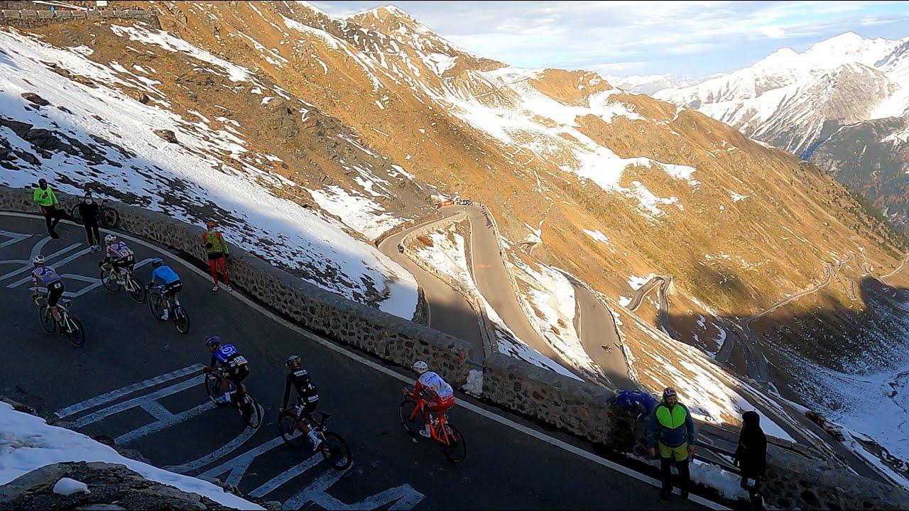 Stilfser Joch mit einem Besuch beim Giro