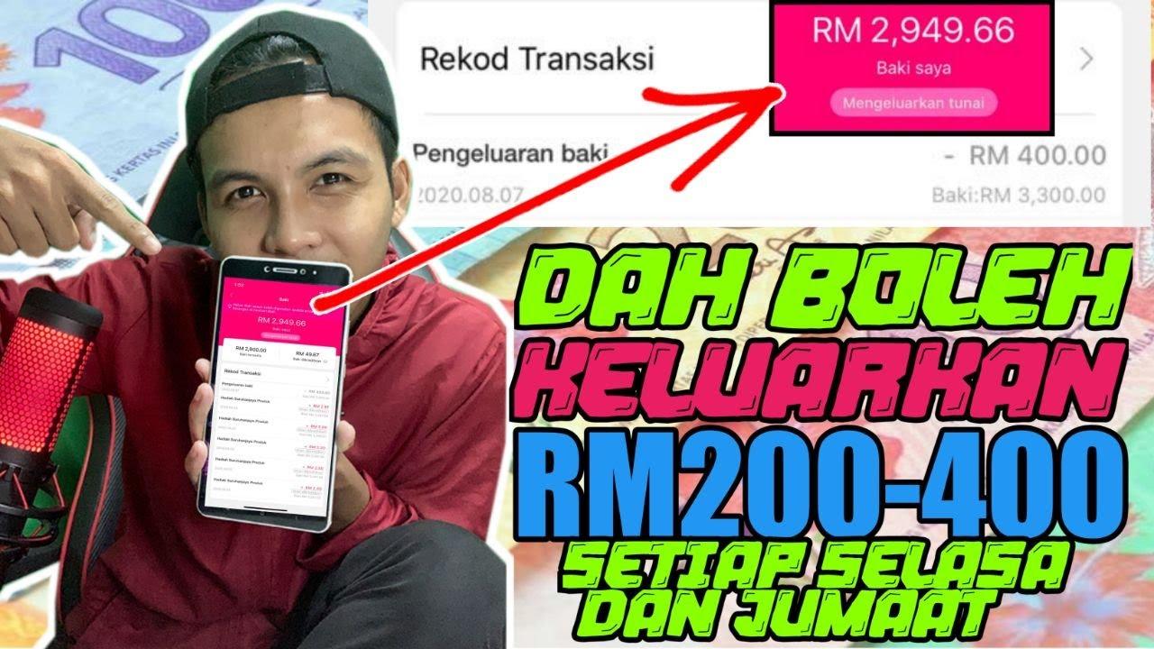 Aku Dapat RM3,300.00 Di Aplikasi Ini 100% Tanpa Modal