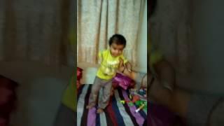 """Kushal panchal """"char char bangali vali"""" song dance"""
