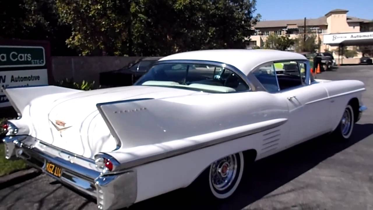 1958 Cadillac Coupe Deville - SOLD - YouTube