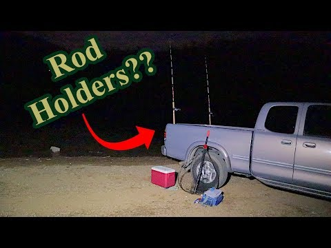 Truck Bed as fishing rod holder??