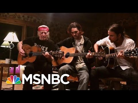 Willie Nelson Just Can't Wait To Get On The Road Again | Morning Joe | MSNBC