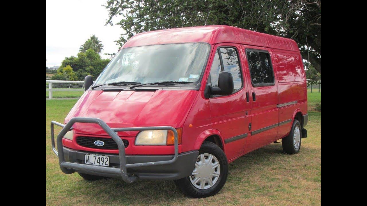 Ford Passenger Van >> 1997 Ford Transit 190 Diesel LWB Van $NO RESERVE ...