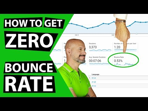 How to get ZERO Bounce Rate
