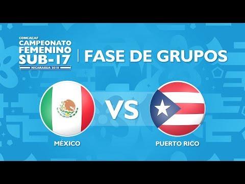 CU17W: Mexico v Puerto Rico