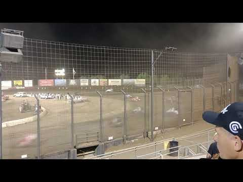 Sprint Car Main Event from Perris Auto Speedway