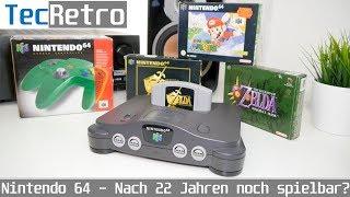 Nintendo 64 - Nąch 22 Jahren noch spielbar? | Brauchen wir eine N64-Mini? | TecRetro