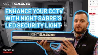 Night sabre LED security light…