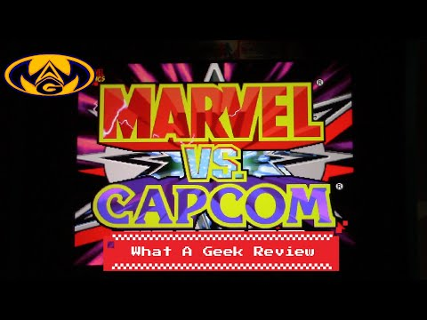 Marvel vs Capcom Arcade 1up review (What a Geek) from What a Geek