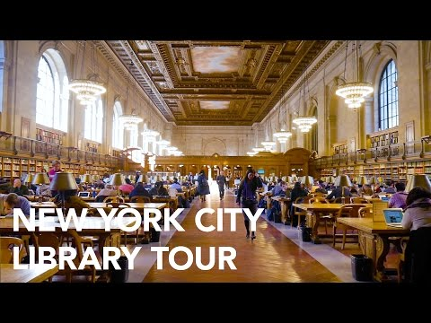 Touring the New York Public Library (NYPL)