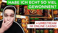 1000 € Sloten🔥 LIVE Casino Stream mit Bonus! Online Casino DEUTSCH 🇩🇪! Book of Dead/Razor Shark