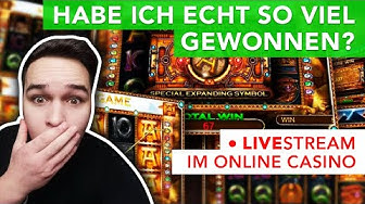 1000 € Sloten🔥 LIVE Casino Stream mit Bonus! Online Casino DEUTSCH 🇩🇪! Book of Dead/Razor Shark
