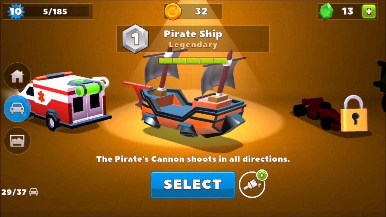 arrr pirate ship crash of cars youtube. Black Bedroom Furniture Sets. Home Design Ideas