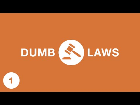Dumb Laws In Texas >> Dumb Laws In The Usa Youtube
