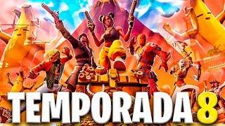 🔴¡¡JUGANDO A LA NUEVA *TEMPORADA 8* de FORTNITE en DIRECTO!! | NUEVO MAPA, SKINS Y MUCHO MÁS!!