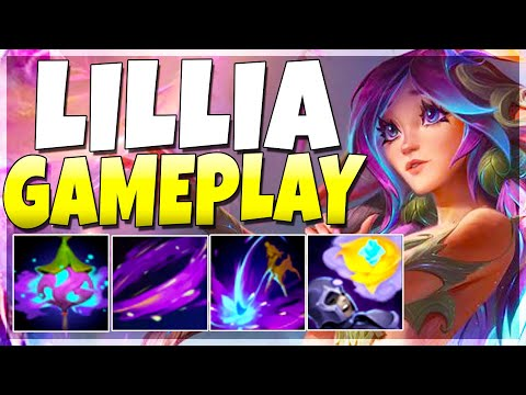 LILLIA IS SUCH AN INSANE CHAMPION!! Global AOE CC!! Lillia Jungle - League of Legends