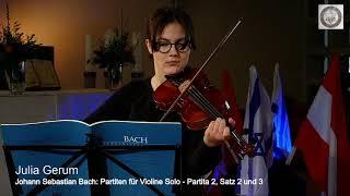 Musik 24h Aktion: Julia Gerum - Violine
