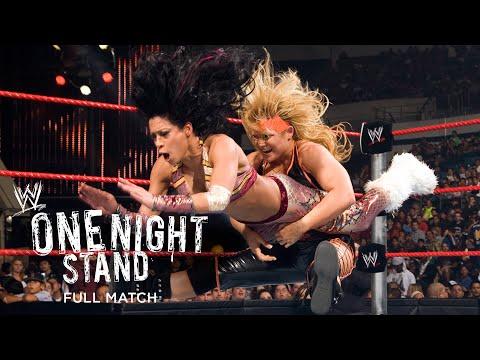 "FULL MATCH - Melina vs. Beth Phoenix - ""I Quit"" Match: WWE One Night Stand 2008"