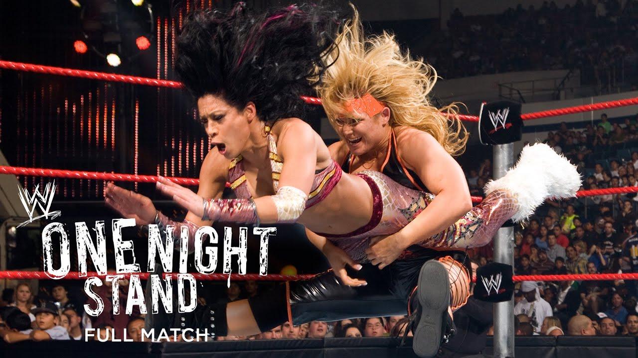 "Download FULL MATCH - Melina vs. Beth Phoenix - ""I Quit"" Match: WWE One Night Stand 2008"