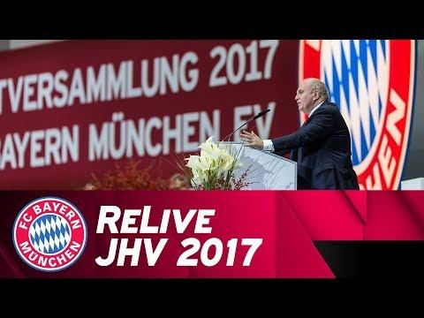 ReLive | FC Bayern Jahreshauptversammlung 2017