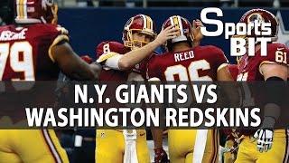 N.Y. Giants vs Washington Redskins Week 17   Sports BIT   NFL Picks & Preview