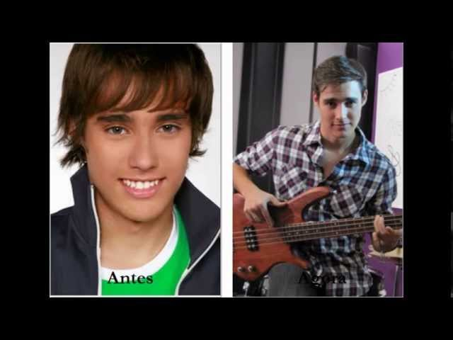 Personagens de Violetta antes e agora Videos De Viajes