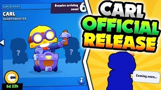 NEW BRAWLER CARL OFFICIAL RELEASE DATE & NICE UPDATE CHANGES IN BRAWL STARS!