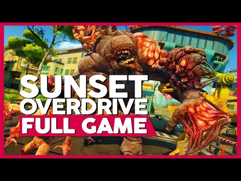 Sunset Overdrive | Full Gameplay/Playthrough | No Commentary (PC 1440p 60FPS)