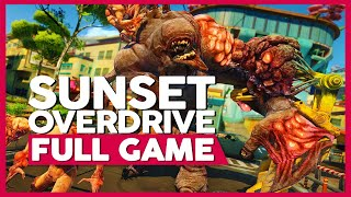 Sunset Overdrive | PC 60fps | Full Gameplay/Playthrough | No Commentary