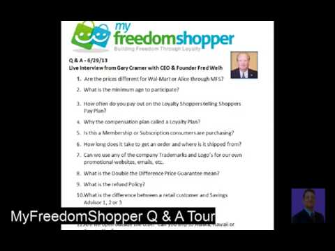 Online Grocery Shopping        QA Live Interview with Fred Weih