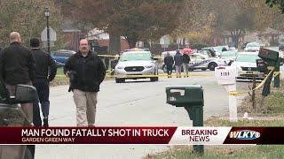 Man found dead in truck on Garden Green Way
