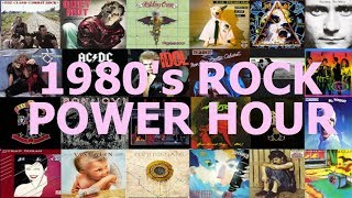 1980s Rock Power Hour Drinking Game