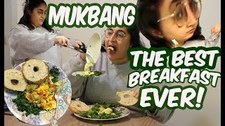 how to make THE BEST breakfast ever + mukbang