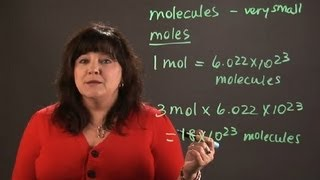 how to calculate the number of molecules in moles of carbon chemistry and physics calculations