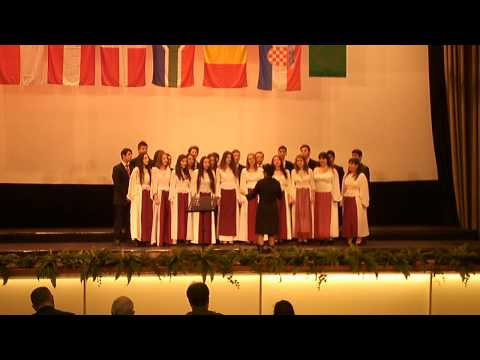 """Ion C. Bratianu"" Choir - La Vifleem colo-n jos"