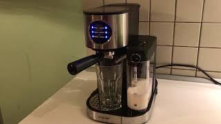 Сильверкрест (СЭММ 1470 А1) кофемашина - демонстрація