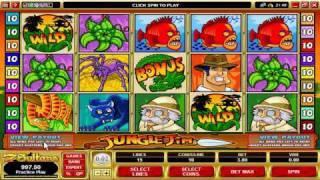 Casino Games: The Jungle Jim Video Slot at 7 Sultans Casino