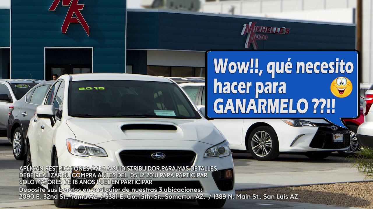Giveaway Auto Sales >> Michelles Auto Sales Spanish Giveaway Promo